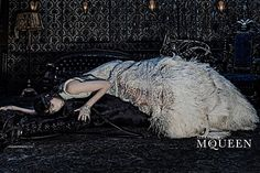 First Look: Ad Campaign Alexander McQueen, Fall-Winter 2014 House of the Spirits