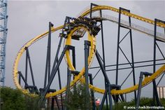Batman: The Ride photo from Six Flags Over Texas