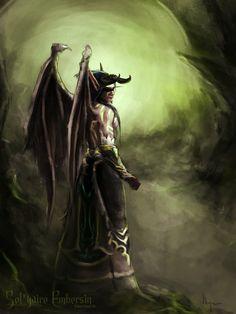 World of Warcraft: Legion World Of Warcraft Legion, World Of Warcraft Characters, Warcraft Dota, Illidan Stormrage, For The Horde, Demon Hunter, Cool Art, Awesome Art, Fantasy Art