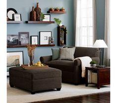 Nice living room- Crate & Barrel