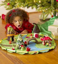 Main image for Felt Magic Valley Play Mat Felt Owls, Felt Animals, Felt Play Mat, Play Mats, Diy For Kids, Crafts For Kids, Felt House, Small World Play, Felt Fairy