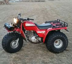 1984 honda atc 200es big red service repair manual 200es i rh pinterest com Honda ATC 250 Big Red Honda Big Red 200ES Specs