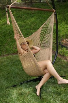 Complete List Of The Best Outdoor Hammocks! This One Is The Hammock Hanging Rope  Chair Porch Swing.