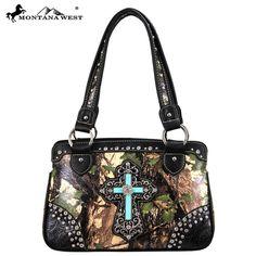 MW67-8247 Western Spiritual Collection Camo Handbag-Green
