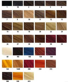 b78a76359705 What color should I dye my hair Hair Color Shades