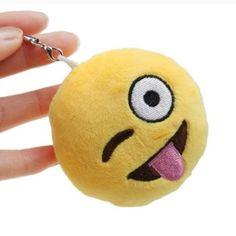 Emoji keychains Cute little emojis keychains  Keychain Accessories
