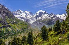 Above Val Roseg - Piz Bernina, Piz Roseg, Vadret Da Tschierva