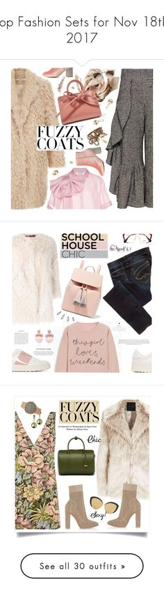 """""""Top Fashion Sets for Nov 18th, 2017"""" by polyvore ❤ liked on Polyvore featuring Burberry, Rachel Comey, Dice Kayek, Charlotte Russe, Mansur Gavriel, Cartier, Pepe Jeans London, Zadig & Voltaire, Valentino and Miu Miu"""