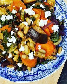 Warzywa pieczone z fasolką i obłędnym sosem – Tasty Flow – eat well, love food, enjoy the moment – blog by food lover for food lovers