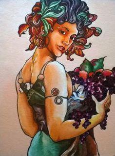 Cottonara: Owoce - reprodukcja