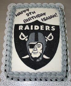 Oakland Raiders Cake #1
