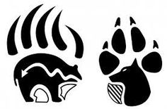 Artistic Native American Wolf Paw Symbol on Uncategorized Ideas Native American Wolf, Native American Tattoos, Native Tattoos, Native American Symbols, Native American Design, Indian Tattoos, American Indians, American Women, American History