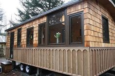 mytinyhousedirectory: Tony's Hornby Island Caravan ~ Lovely!