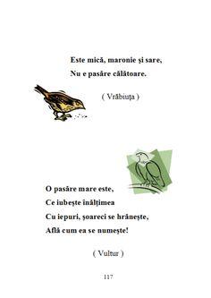 fileshare_200 de ghicitori pentru copii.pdf Early Education, Toddler Activities, Romania, Kindergarten, Craft Ideas, Birds, Early Childhood Education, Early Years Education, Kindergartens