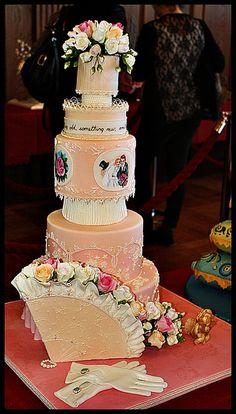 wow - wedding cake