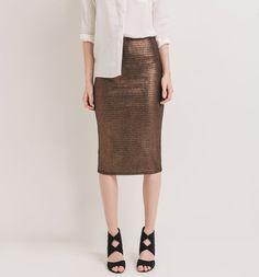 Połyskująca+spódnica