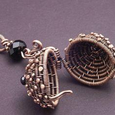 Woven Copper Ball | JewelryLessons.com  Mary Tucker