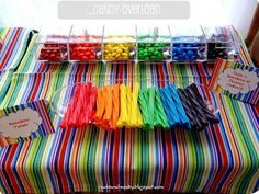 Great rainbow party ideas! HAYLEE I can pin all day about this party you want to throw!