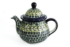 Polish Pottery Shannon Large Teapot >>> Click image to review more details.