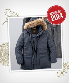 Look great in the extreme cold this winter in a weekender parka #searswishlist