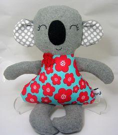 Lucie Koala Softie - by Ribryba on madeit