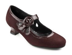 Valetta - Ruby Suede/Patent- I cannot go much longer without buying these.