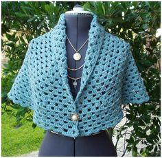 Crochet Shawl + Free Pattern