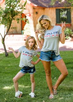 American Love Tee, Top, Short Sleeve Top, Flag top,  Fashion, Style, Fashion blogger, Online Shopping, Online Boutique, Ryleigh Rue Clothing Utah Boutique, Mommy and Me Cap Sleeve Top, Cap Sleeves, Utah Boutiques, Modern Vintage Boutique, Mommy And Me Outfits, Children's Boutique, My Outfit, Style Fashion, Online Shopping