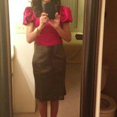 Italian Leather Skirt Montana Paris Leather Skirt made in Italy Montana Paris Skirts