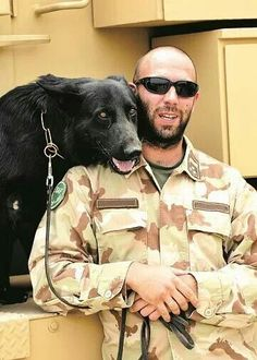 Military dog - MWD Pocket