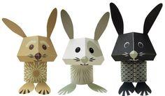 Mibo - The Carrot Crew Paper Animals Kit - Eco £6.25