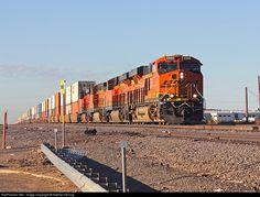 RailPictures.Net Photo: BNSF 6989 BNSF Railway GE ES44C4 at Amarillo, Texas by Nathan Herring