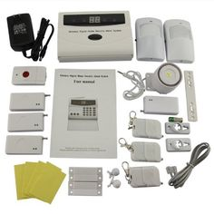 Wireless PIR Home Security Burglar Alarm System Auto Dialing Dialer by DBPOWER. $79.99. Description: Keypad Control Panel Unit Number of Guard Zones : 32 Guard Zones Emission distance : 240-500 feet Build in Rechargeable battery for using during power cutoff (support around 24 hours) Motion Detector Detected Distance : 5-8m; Transmit Distance : approx 100m (no obstacle) Detect angle : Horizontal: 110¡ã, Vertical: 60¡ã Keychain Remote Control; Wireless remo...