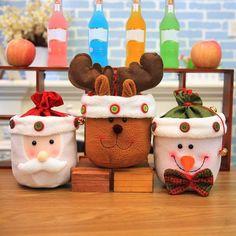 Christmas Gift Bag Santa Claus Sack Elk Snowman Candy Bag with Bell Bag Decoration Xmas Gift Bags Christmas Ornament Baby Christmas Gifts, Christmas Deals, Etsy Christmas, Christmas Candy, Kids Christmas, Christmas Decorations, Christmas Ornaments, Candy Bags, Candy Gifts