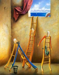pinturas y dibujos surrealistas - Buscar con Google