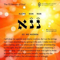 The 72 Names of God #noagenda #kabbalah