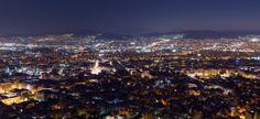 #Athens #View #Evening #Panoramic #Greece #Travel #Luxury  www.truegreece.com/destinations/athens.html