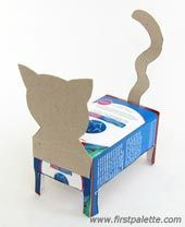 Step 7 Box cat craft