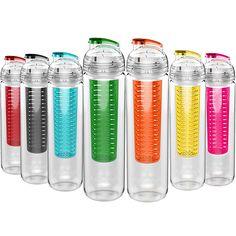 800ml Large Capacity Portable Convenient Sport Tritan Fruit Infuser Water Bottle