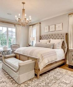 24 amazing farmhouse master bedroom design ideas 11 ~ Home And Garden Luxury Bedroom Furniture, Home Decor Bedroom, Bedroom Ideas, Luxury Bedding, Farmhouse Master Bedroom, Master Bedroom Design, Master Bedrooms, Minimalist Bedroom, Modern Bedroom