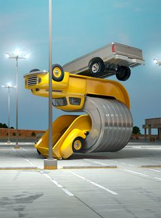 Tales of Auto Elasticity: 3D Artworks by Chris Labrooy   Inspiration Grid   Design Inspiration