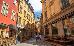 Gamla Stan, Stockholm, Schweden © Nisa Maier Stockholm, Street View, Beautiful, Last Minute Vacation, Venice Italy, Sweden
