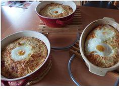 Kartoffel-Auflauf mit Eiern