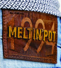 etiqueta de cintura para jean cosida.