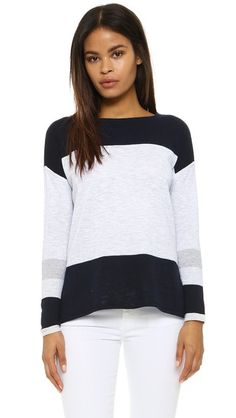 Vince Intarsia Sweater | SHOPBOP