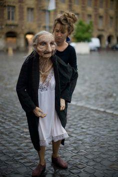 Marionet Grandma