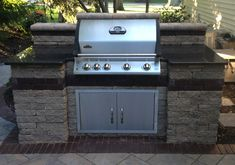 how to build a grill surround