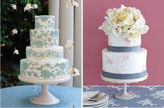 {Wedding Trends} : Lace Cakes - Part 3  | bellethemagazine.com