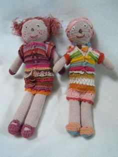 Sophie DIGARD crochet dolls