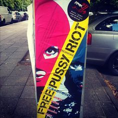 Posterised in Berlin. Join the campaign and stay up to date at http://amnesty.org.uk/pussyriot #freepussyriot